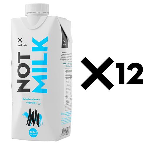 NOTMILK 330 ml - Plain - 12 Unidades