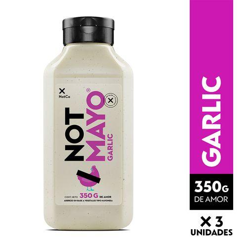 NOTMAYO 350 g - Garlic - 3 Unidades