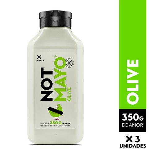 NOTMAYO 350 g - Olive - 3 Unidades