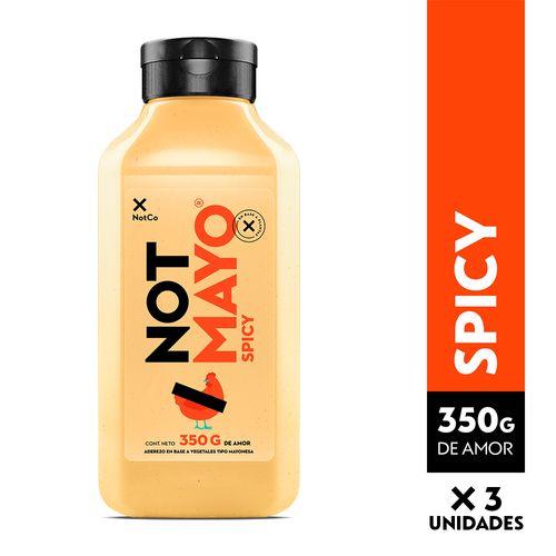NOTMAYO 350 g - Spicy - 3 Unidades